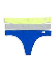 New Balance 3 Pack Breathe Thong Set Concrete Blue