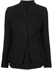 Forme D'expression Layered Blazer Black