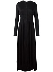 J.W.Anderson Ruched Shirt Dress Black