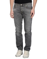 Department 5 Denim Pants Grey