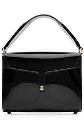 Marc Jacobs Patent Leather Tote Black