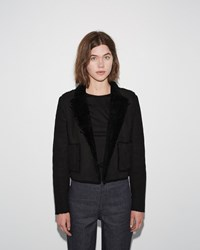 Proenza Schouler Short Coat Black
