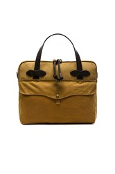 Filson Tablet Briefcase Tan