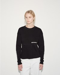 Eckhaus Latta Lapped Sweatshirt Black