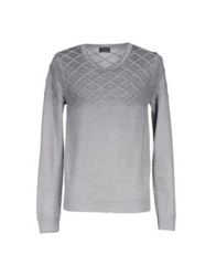 Lab. Pal Zileri Sweaters Grey