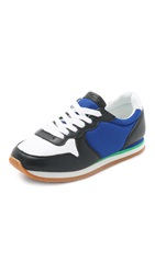 See By Chloe Kate Jogger Sneakers Blue White