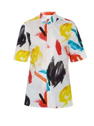 Paul Smith Fresco Print Short Sleeved Shirt