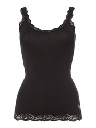 Dkny Downtown Cotton Camisole Black