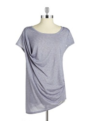 Bench Draped Front Tee Purple
