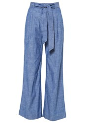 Banana Republic Trousers Chambray Light Blue