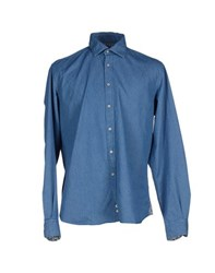 Altea Denim Denim Shirts Men