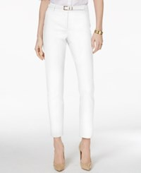 Charter Club Belted Tummy Control Slim Leg Pants Only At Macy's