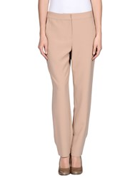 St. John Trousers Casual Trousers Women Sand