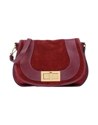 Avril Gau Handbags Brick Red