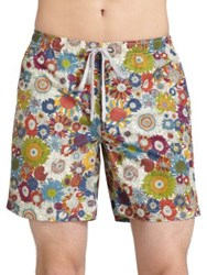 Onia Liberty Art Swim Trunks Rainbow