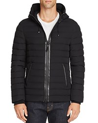 Mackage Ozzy Hooded Quilted Down Jacket Black