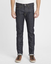 Edwin Faded Blue Raw Ed One Red Selvedge Slim Jeans