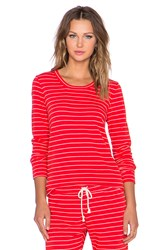 Nation Ltd. Stefanie Sweatshirt Red
