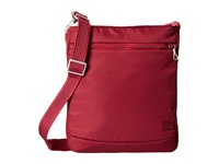 Pacsafe Citysafe Cs175 Anti Theft Shoulder Bag Cranberry Shoulder Handbags Red