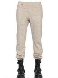 08 Sircus Cotton And Mohair Fleece Jogging Trousers