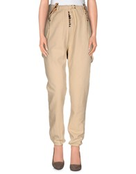 Maison Scotch Trousers Casual Trousers Women Beige