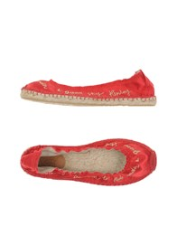 Replay Footwear Espadrilles Women Brick Red