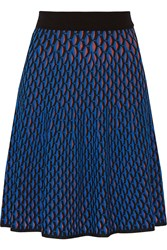 M Missoni Crochet Knit Cotton Blend Skirt