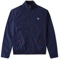 Fred Perry Ealing Bomber Jacket Blue