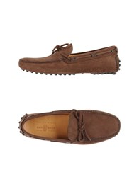 Car Shoe Carshoe Footwear Moccasins Men Brown