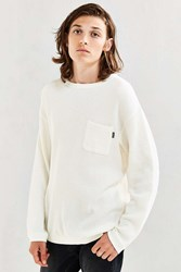 Manastash Snug Thermal Long Sleeve Tee White