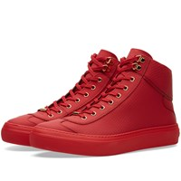 Jimmy Choo Argyle Sneaker Red