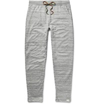 Paul Smith Space Dyed Loopback Cotton Jersey Pyjama Trousers Gray