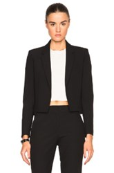 Helmut Lang Cropped Shrunk Blazer In Black