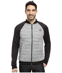 The North Face Norris Point Insulated Full Zip Tnf Dark Grey Heather Tnf Black Heather Men's Clothing Gray