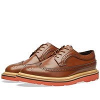 Paul Smith Grand Brogue Brown