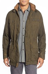 Men's Jeremiah 'London Traveller' Canvas Collar Jacket