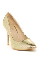 Charles Albert Natasha Pump Metallic