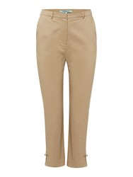 Dickins And Jones Bow Detail Trouser Stone