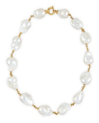 New Essentials Baroque Pearl Necklace Rina Limor