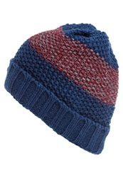 Pier One Hat Navy Bordeaux Dark Blue