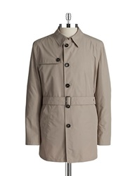 Bugatti Water Repellent Trench Coat Beige