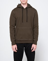Reigning Champ Pullover Hoodie In Olive