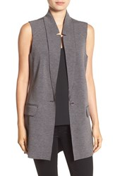 Trouve Women's Raw Edge Longline Vest