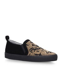 Gina Karina Slip On Skate Sneakers Female Black