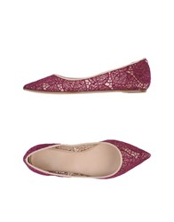 Giambattista Valli Footwear Ballet Flats Women Purple