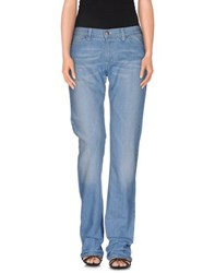 Armani Jeans Denim Denim Trousers Women