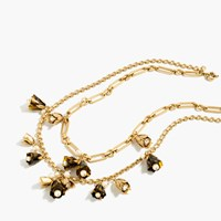 J.Crew Tortoise Bud Necklace