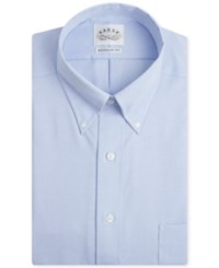 Eagle Men's Big And Tall Classic Fit Stretch Collar Non Iron Solid Dress Shirt Mist