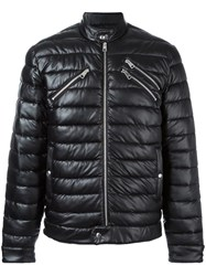 Just Cavalli Quilted Padded Jacket Black
