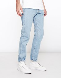 Edwin Ed One Red Listed Selvage Denim Even Wash Blue